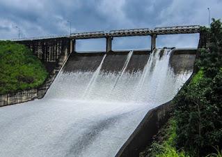 bendungan pembangkit listrik tenaga air