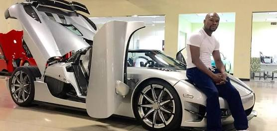 most expensive things owned by Mayweather - Koenigsegg CCXR Trevita