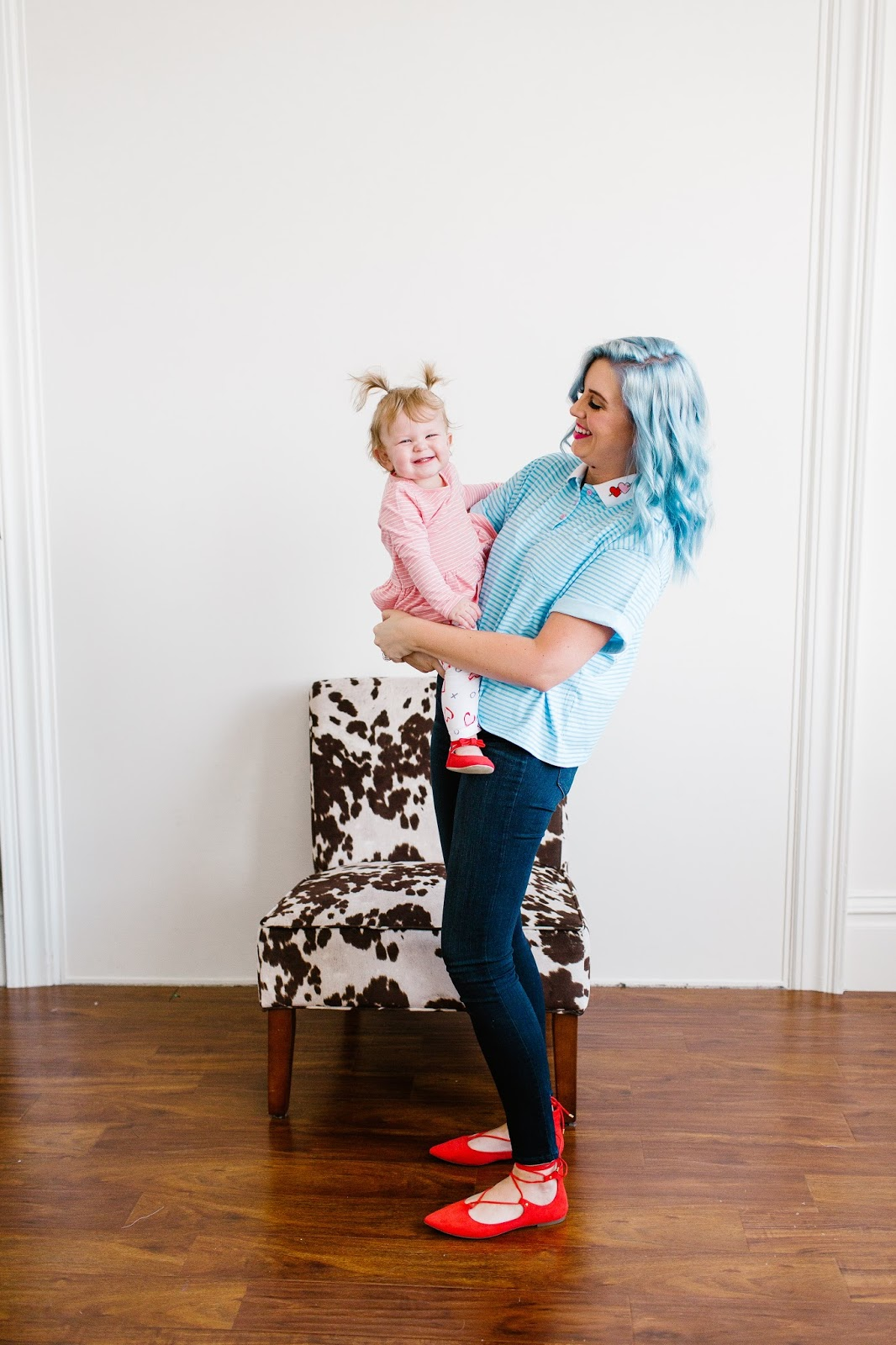 Mommy and Me Outfits, Valentine's Day Outfit, Utah Fashion Blogger