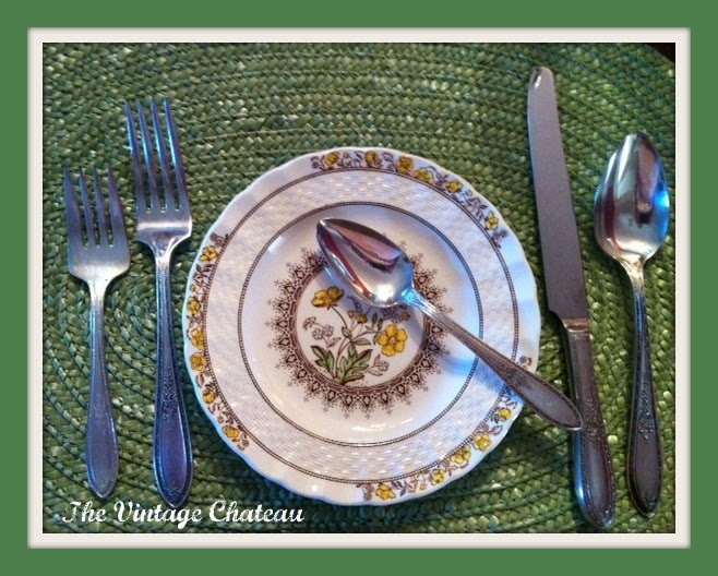 The Vintage Chateau Summer Table Setting