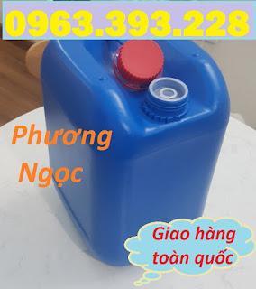Can nhựa 10L có nắp chống tràn, can nhựa đựng hóa chất 10 Lít, can nhựa dày 10L B7e615e2ede310bd49f2