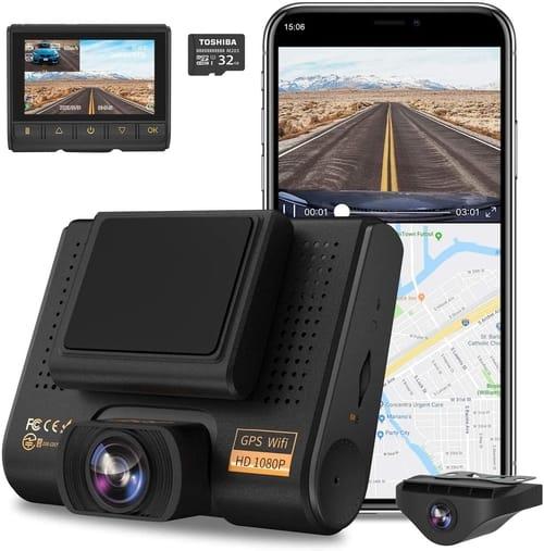 Review AQP X1Full HD Dual Dash Cam Car Camera