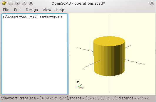 3D printer improvements: How to use Openscad (1), tricks and tips to