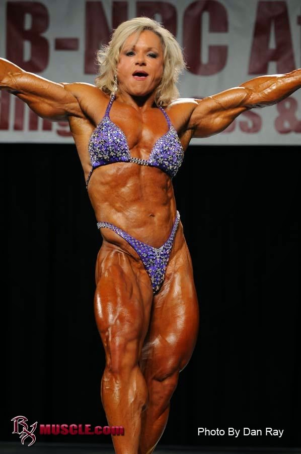 The Female bodybuilder Lisa Aukland - The Best