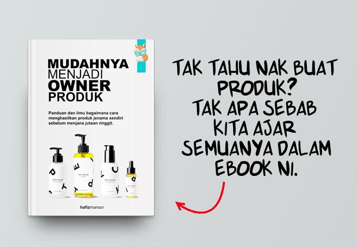 Panduan dan Rahsia Untuk Jadi Produk Owner
