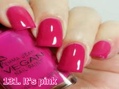 It's pink