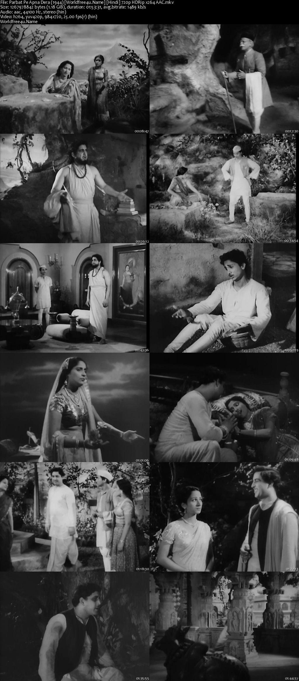 Parbat Pe Apna Dera 1944 Hindi HDRip 720p