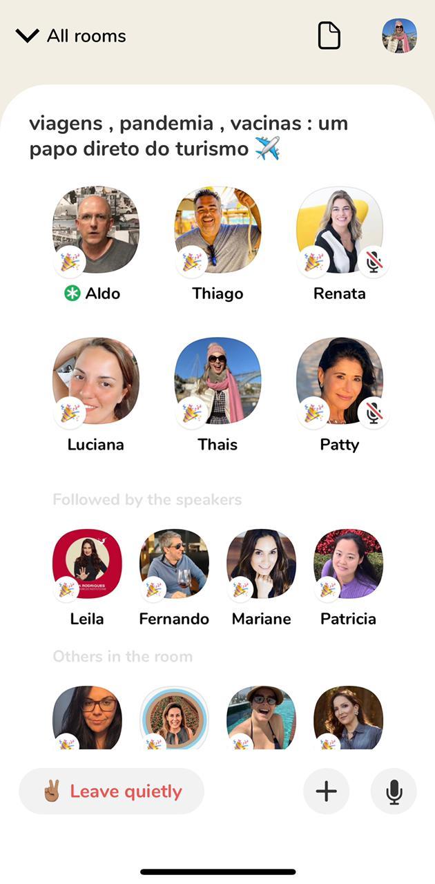 Embaixadores de Turismo Clubhouse