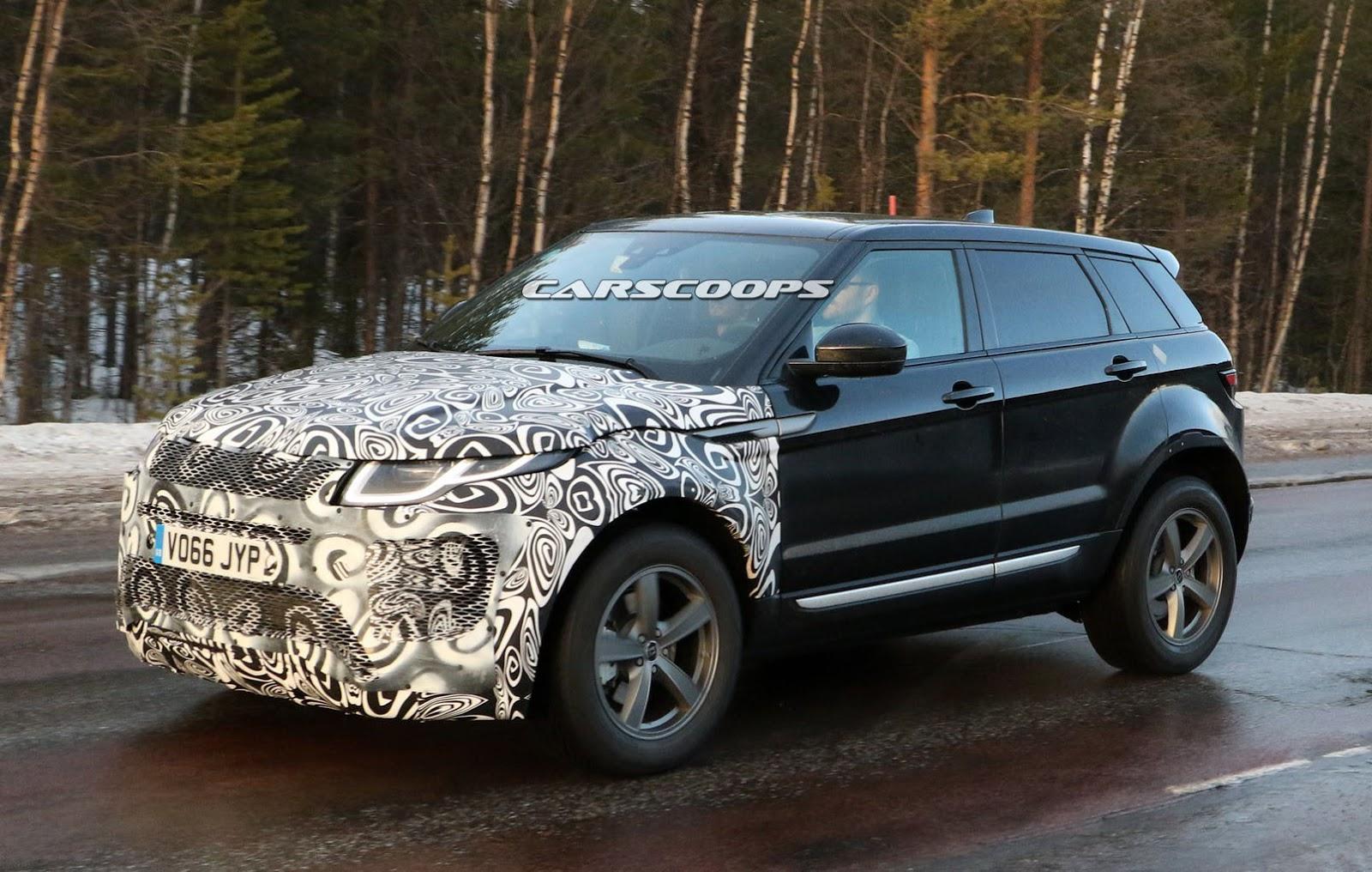 2019 Range Rover Evoque Will Basically Look Like A Smaller Velar