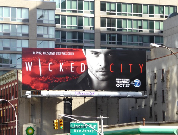 Wicked City season 1 billboard NYC