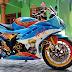 Modifikasi Airbrust R15 Bertemakan Naruto Milik Bro Nur Slalu Ada