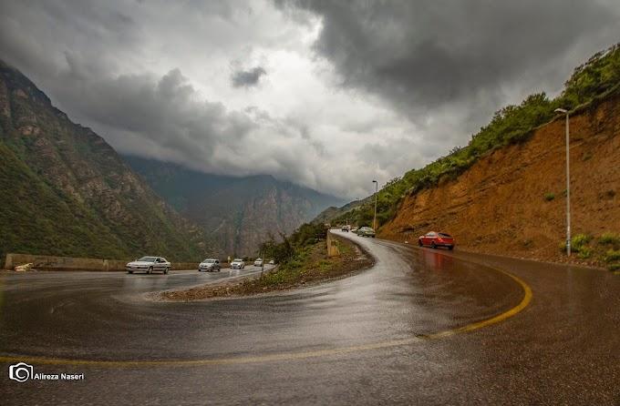 Iran - Chalus Road