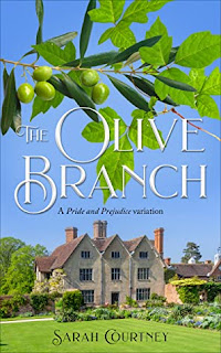 Book cover: The Olive Branch by Sarah Courtney