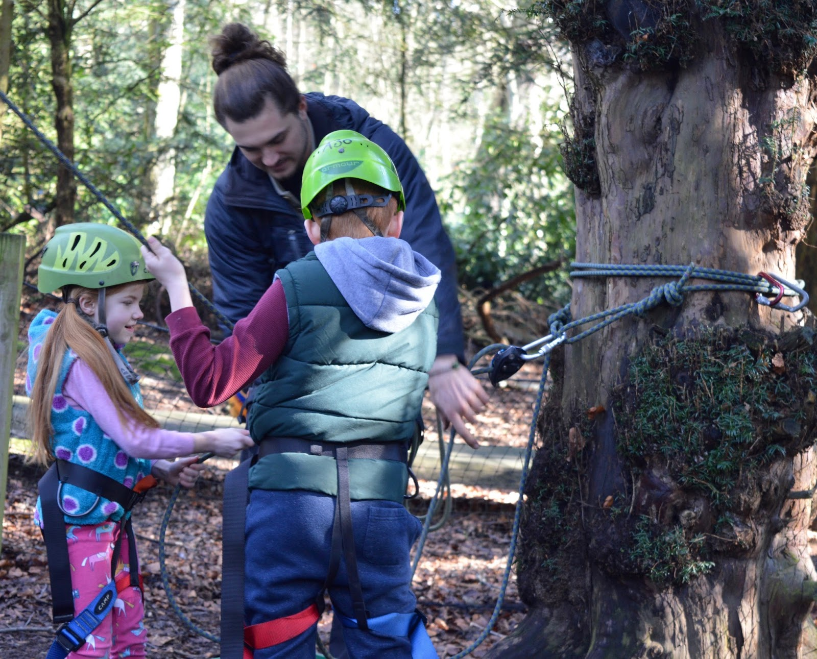 Beamish Wild | School Holiday Club & Activities in County Durham | North East England - ropes