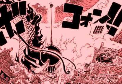 Otsky kaos anime manga trafalgar law luffy vs kaido one piece | kaos one piece luffy jepang oversize. Yonkou Ke 5 Luffy Vs Kaido Chapter 923 Rio Veskom