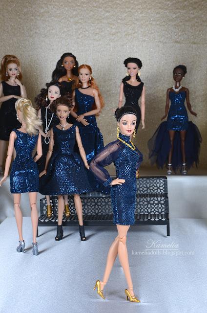 Evening dresses fashion show