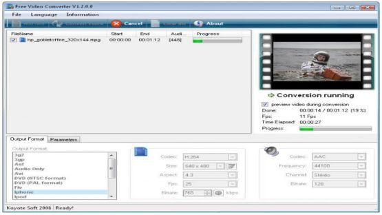 Free Video Converter screenshot 3