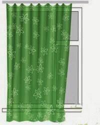 картинка шторы до подоконника