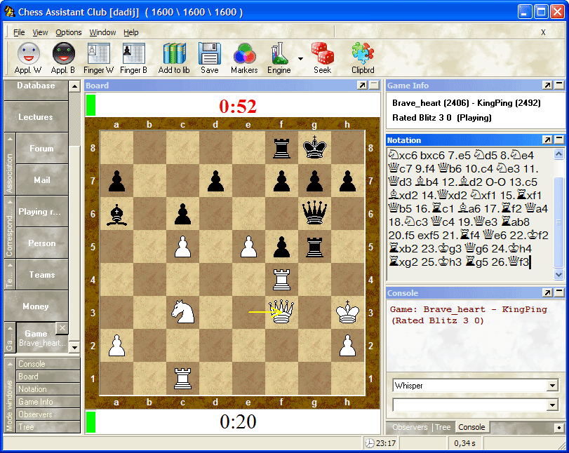 Chess Assistant 10 Manual