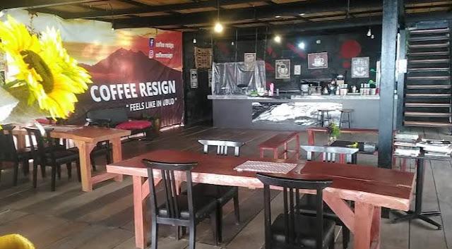 harga menu coffee resign bogor, menu coffee resign bogor, alamat coffee resign bogor, lokasi coffee resign bogor, cafe baru bogor, cafe coffee resign bogor