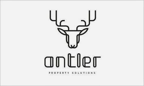 Bold & Thin line Logo Antler