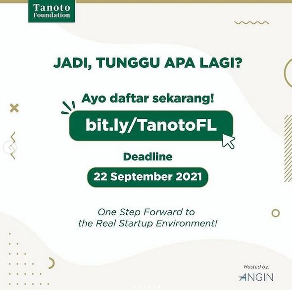 Call for Application: Tanoto Future Leader Business Acumen Program!