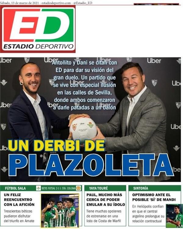 """Betis, Estadio Deportivo: """"Un derbi de plazoleta"""""""