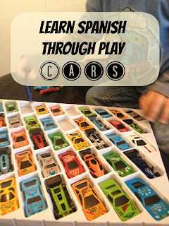 Same or Different? // Learn Spanish through Play: CARS