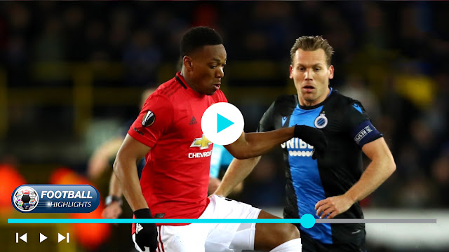 Club Brugge vs Manchester United – Highlights