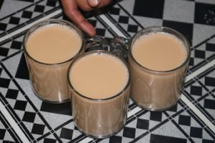Tea with camel milk Kenya