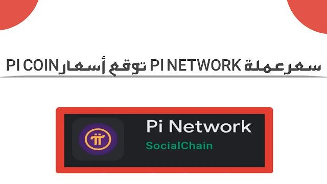 سعر عملة pi network توقع أسعار Pi Coin