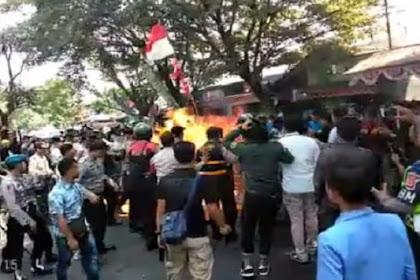 Beginilah Peran Lima Tersangka Saat Aksi Demo Berujung Terbakarnya Anggota Polri di Cianjur