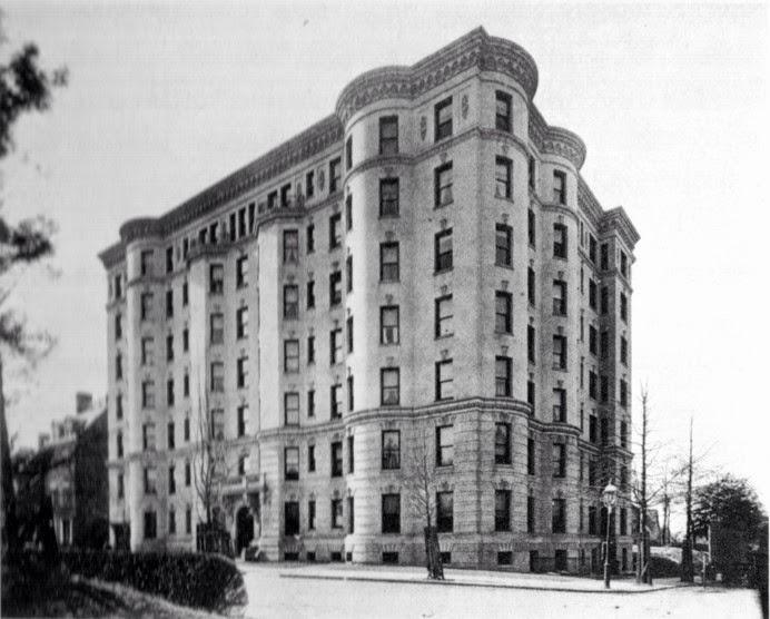 The Mendota First Apartment Building In Kalorama Triangle Neighborhood History