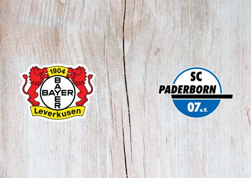 Bayer Leverkusen vs Paderborn -Highlights 29 October 2019