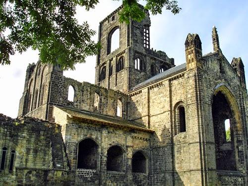 Kirkstall Abbey, Leeds, UK.
