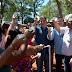 Prefeitura e Sanepar ligam água na ocupação do antigo viveiro municipal
