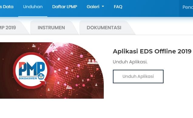 Download Aplikasi PMP EDS Dikdasmen Offline Versi 2019.11