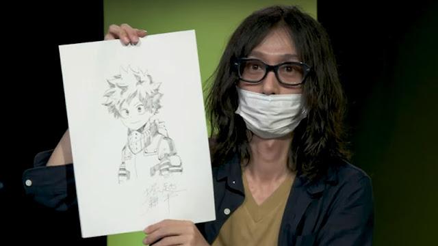 Kohei Horikoshi, autor de Boku no Hero Academia
