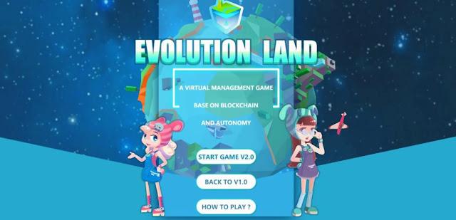 Game NFT Evolution Land