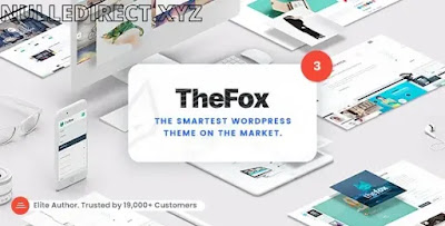 TheFox WordPress Theme Nulled v 3.9.9.9.14 - Responsive Multi-Purpose