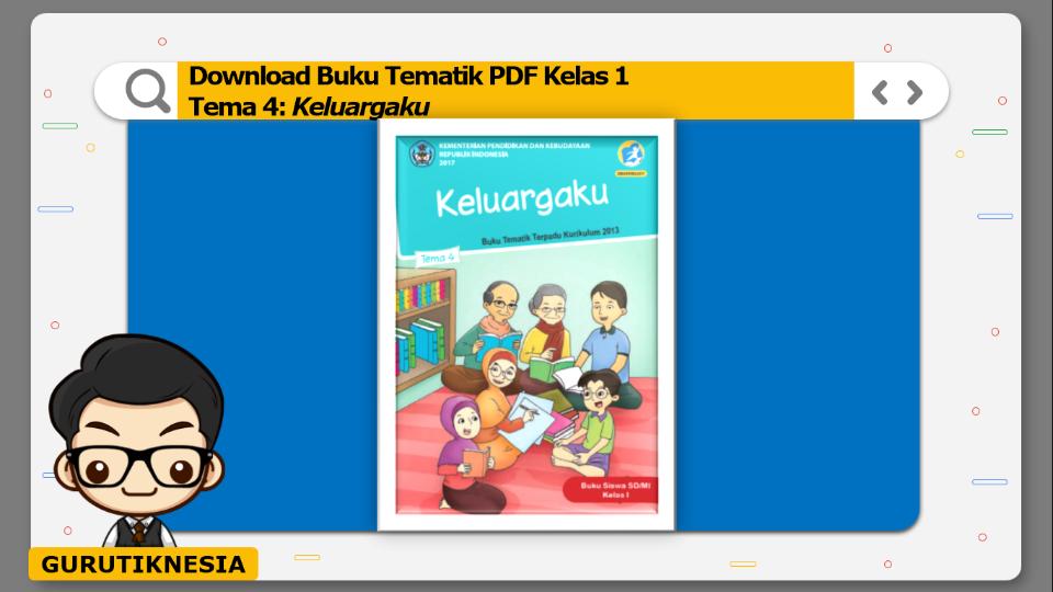 download buku tematik pdf kelas 1 tema keluargaku