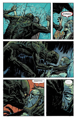 Un monstre hideux embrasse le frère de Chaise...