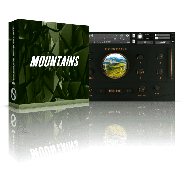 Sound Aesthetics Sampling Mountains v3.0 KONTAKT Library