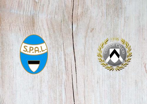 SPAL vs Udinese -Highlights 09 July 2020