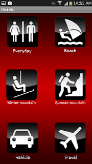 first aid Android Applications For Health