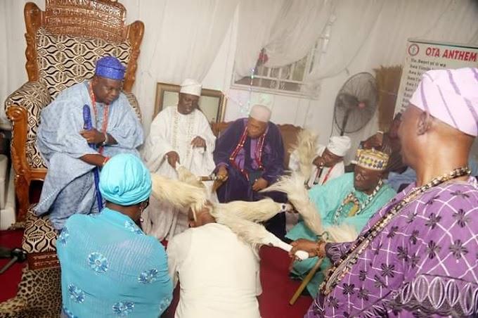 Olota Of Ota pray for APC gov candidate Prince Dapo Abiodun