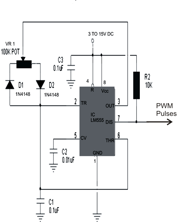 1KVA 1000 watts Pure Sine Wave Inverter Circuit Diagram