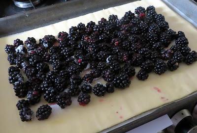 Easy Blackberry Galette