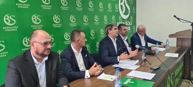Damir Gutić potpredsjednik, Admir Šahmanović član predsjedništva BS-a