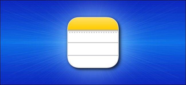 رمز تطبيق Apple iPhone Notes